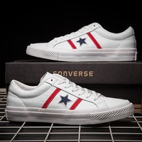 Converse Old Skool Fashion Leather Sneakers Sport Shoes
