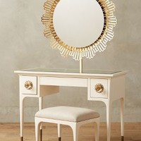Petaluma Vanity Set by Anthropologie in White Size: One Size Furniture