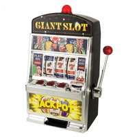 Giant Slot Machine Bank
