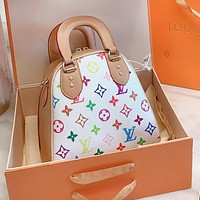LV Louis Vuitton High Quality Newest Women Shopping Bag Leather Handbag Tote Crossbody Satchel Shoulder Bag