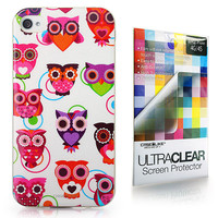 Art of Owl 3341 back cover, Apple iPhone 4GS