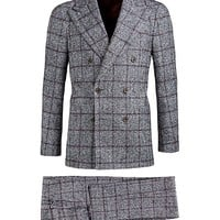 Suit Grey Check Madison P3935i | Suitsupply Online Store