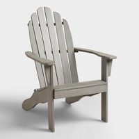 Gray Adirondack Chair