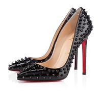 Pigalle Spikes 120mm Black Patent