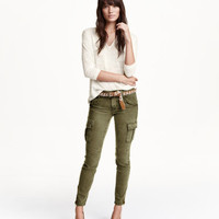 H&M Cargo pants in a lyocell blend $49.99