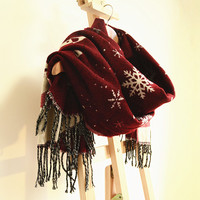 Snow Flake Scarf