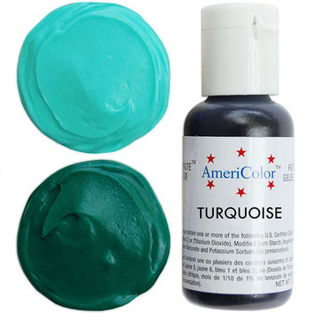 Turquoise Gel Paste Food Color