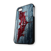 Batman Blood Sign on the Wall iPhone 5C Case