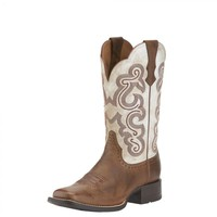 Ariat Boots Women's Quickdraw Sandstorm Cowgirl Boot #10015318