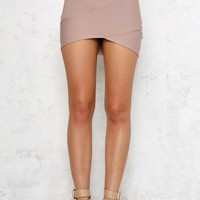 Hot Like Fire Skirt Mocha
