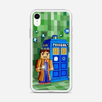 Tardis Doctor Who Little Prince iPhone XR Case