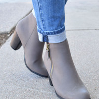 Everyday Grey Bootie
