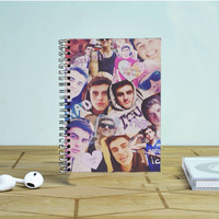 Jack Gilinsky Collage Photo Notebook Auroid