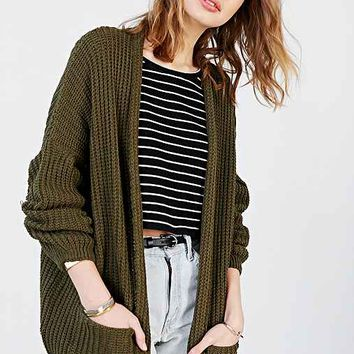 Silence + Noise Apple Cardigan - Green