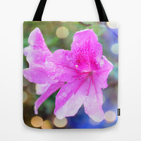 pretty purple garden flowers. nature is beautiful. floral photo art. Tote Bag by NatureMatters