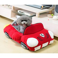 Cool Sports Car Shaped Pet Dog Bed House Chihuahua Yorkie Small Dog