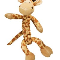 Kong Braidz Safari Giraffe Dog Toy Sz: Medium