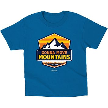 Kerusso Kids Gonna Move Mountains Christian Toddler Youth T-Shirt