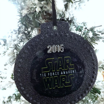 Star Wars The Force Awakens 2015 Holiday Ornament- Christmas Gift