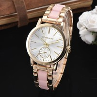 MK Women Fashion Trend Quartz Movement Wristwatch Watch