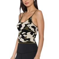 Jordyn Jagger Camo Crop Top