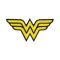 Wonder Woman Logo Iron-On Patch