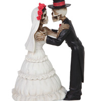 Day Of The Dead Wedding Couple Figure