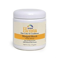 Rainbow Research Henna Hair Color and Conditioner - Marigold Blonde (Golden Blonde) - 4 oz