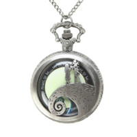 The Nightmare Before Christmas Jack & Sally Locket Necklace