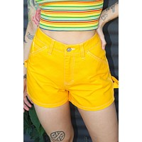 Gold Carpenter Shorts by Dickies Girl