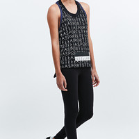 Adidas Stellasport Cotton Printed Tank in Black - Urban Outfitters