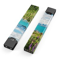 Vivid Paradise - Premium Decal Protective Skin-Wrap Sticker compatible with the Juul Labs vaping device