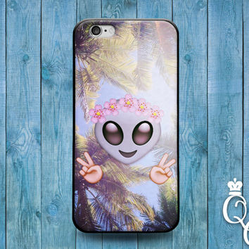 iPhone 4 4s 5 5s 5c 6 6s plus iPod Touch 4th 5th Generation Peace Out Emoji Cute Phone Case Funny Adorable Palm Tree Custom Gift  Cute Case