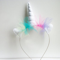 Unicorn Headband - Princess Celestia inspired
