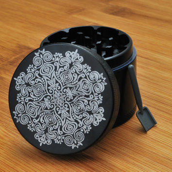California Sea // Floral Grinder 4 Piece Herb Grinder