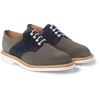 Mark McNairy - Contrast Sole Saddle Derby Shoes | MR PORTER