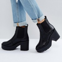 New Look Chunky Heeled Chelsea Boot at asos.com