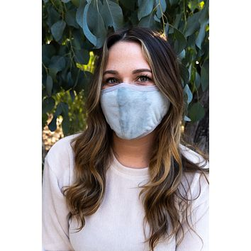GRAY - ADULT'S EAR COVER FACE MASK
