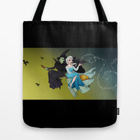 Define Gravity and Let It Go Tote Bag by Katie Simpson