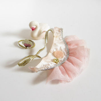 Fashion Star Fillies Star Light Ballet Outfit with Pink Tutu, Crown, Swan for Sassy Sixteens Horses Teen Fashions