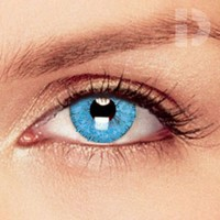 iD Lenses Blue Coloured Contacts