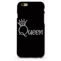 Queen Hard Black Plastic Phone Case Phone Cover for Iphone 6 6s_ SUPERTRAMPshop (iphone 6 bl)