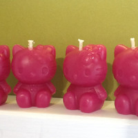 Hello Kitty Beeswax Birthday Candles, 4-Pack Giftboxed