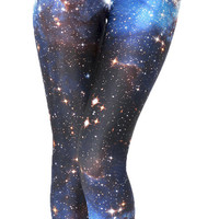 Galactics Star Leggings Pants Blue from Charming Galaxy