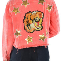 The Diva Lioness Denim Jacket