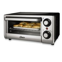 Oster® 4-Slice Toaster Oven in Silver