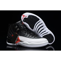 "Air Jordan Retro 12 ""Playoffs"" Basketball Shoes"