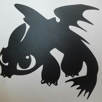How To Train Your Dragon--Toothless Vinyl Decal