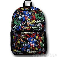 Marvel Avengers All Over Print Backpack