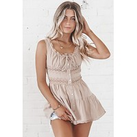 Rose Garden Dusty Rose Tunic